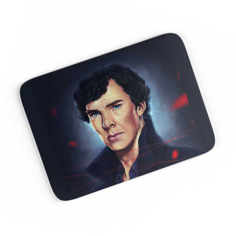 Sherlock digital painting A4 Mousepad Online India