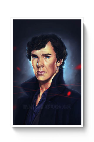 Sherlock digital painting Poster Online India