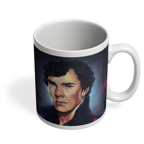 Sherlock digital painting Coffee Mug Online India