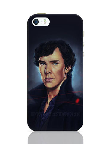 Sherlock digital painting iPhone Covers Cases Online India