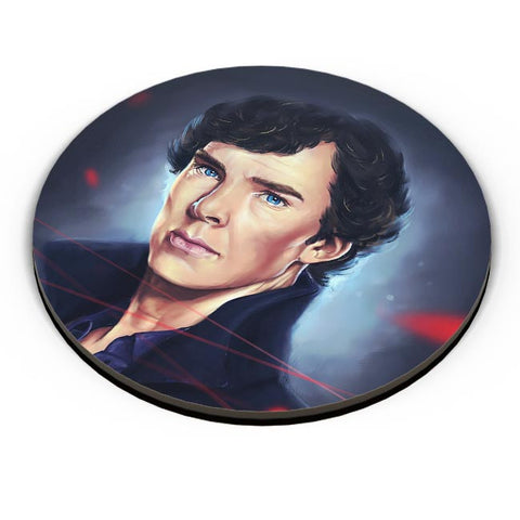 Sherlock digital painting Fridge Magnet Online India