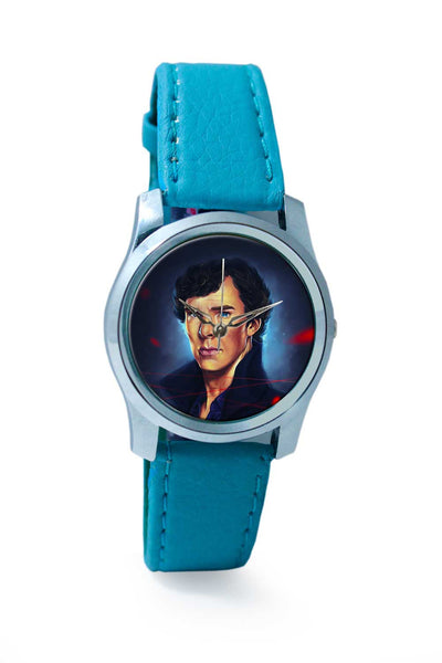 Women Wrist Watch India | Sherlock digital painting Wrist Watch Online India