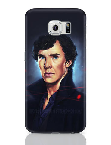 Sherlock digital painting Samsung Galaxy S6 Covers Cases Online India