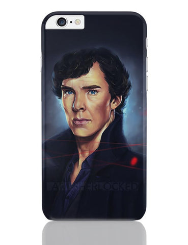 Sherlock digital painting iPhone 6 Plus / 6S Plus Covers Cases Online India