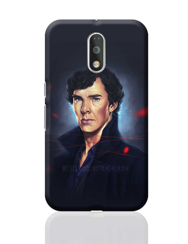 Sherlock digital painting Moto G4 Plus Online India