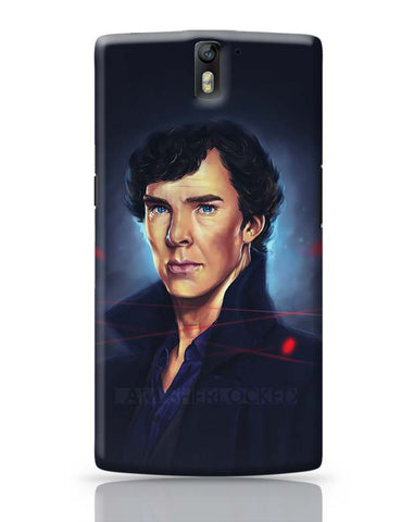 Sherlock digital painting OnePlus One Covers Cases Online India