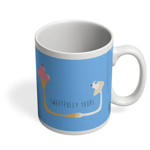 Sweetfully Yours Coffee Mug Online India