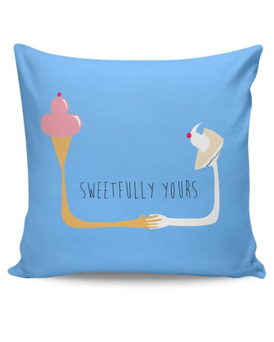 Sweetfully Yours Cushion Cover Online India