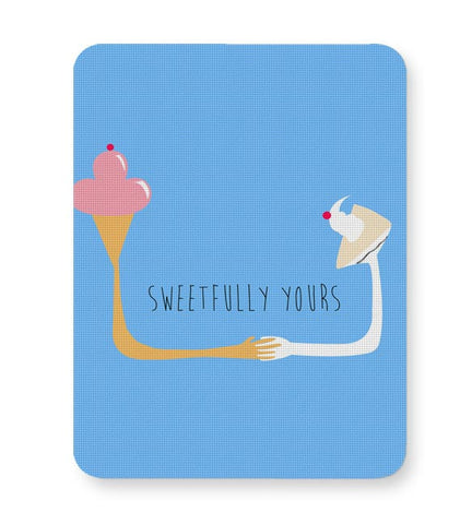 Sweetfully Yours Mousepad Online India