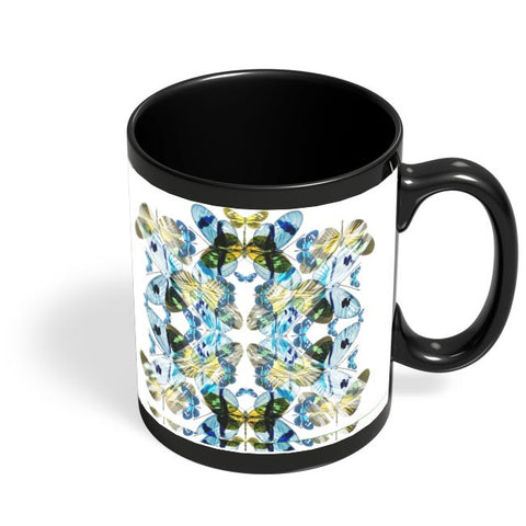 BUTTERFLY SERIES . 5 Black Coffee Mug Online India
