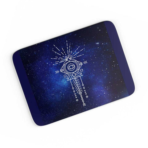 Sacred eye abstract pattern A4 Mousepad Online India