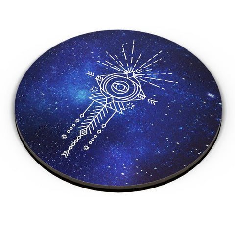 Sacred eye abstract pattern Fridge Magnet Online India
