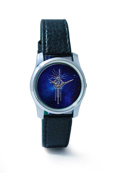 Women Wrist Watch India | Sacred eye abstract pattern Wrist Watch Online India