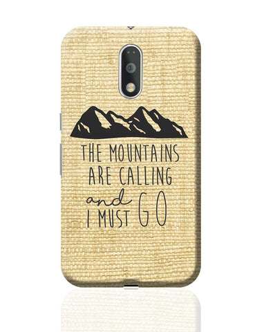 Wanderlust Mountains Moto G4 Plus Online India