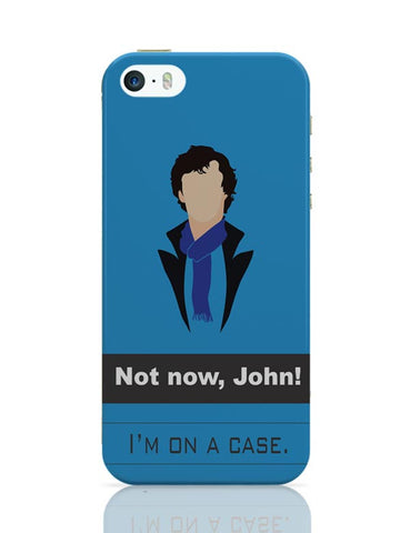 Sherlock on a case iPhone Covers Cases Online India