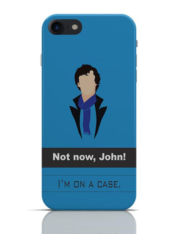 Sherlock on a case iPhone 7 Covers Cases Online India