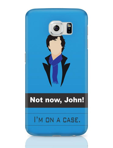 Sherlock on a case Samsung Galaxy S6 Covers Cases Online India