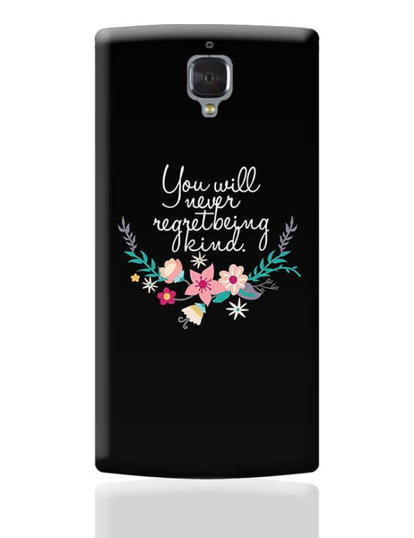 Kindness is love Quotes OnePlus 3 Covers Cases Online India