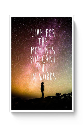 Buy Awesome Stars Wanderlust Quotes  Poster