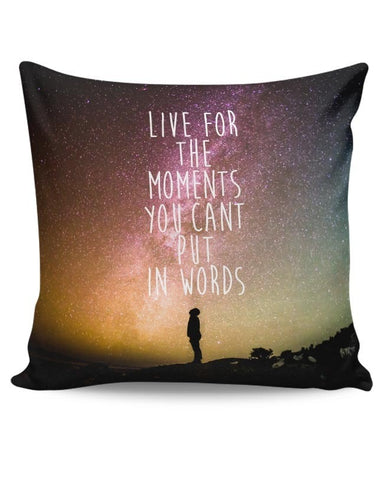 Awesome Stars Wanderlust Quotes  Cushion Cover Online India
