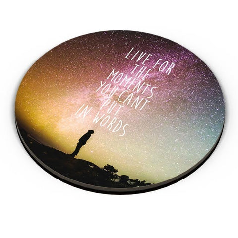 Awesome Stars Wanderlust Quotes  Fridge Magnet Online India