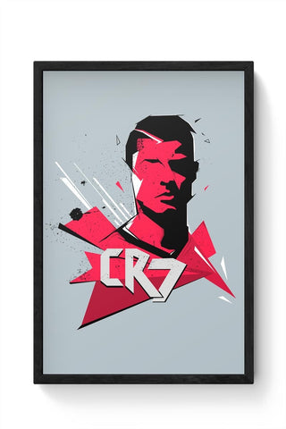 CR7 Framed Poster Online India