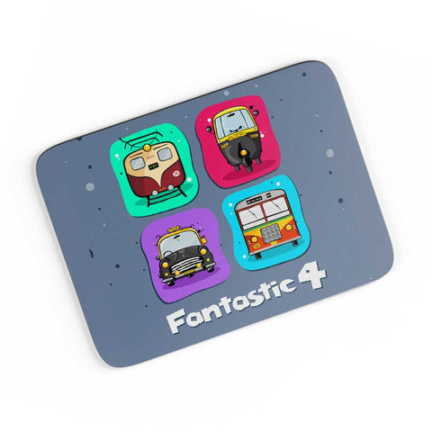 Fantastic 4 A4 Mousepad Online India