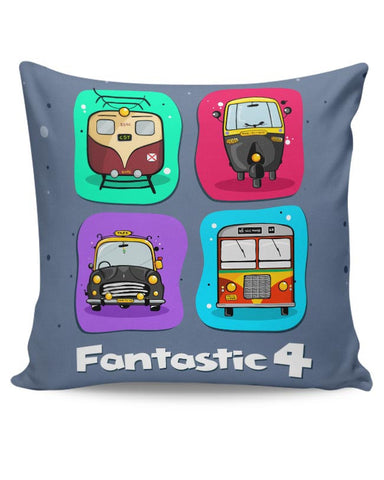 Fantastic 4 Cushion Cover Online India