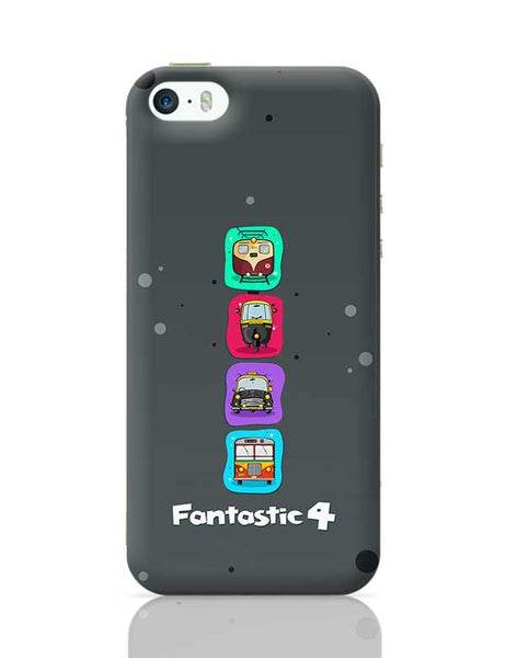 Fantastic 4 iPhone 5/5S Covers Cases Online India
