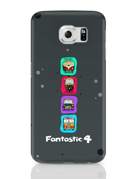 Fantastic 4 Samsung Galaxy S6 Covers Cases Online India