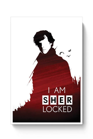 I am sherlocked Poster Online India