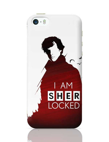 I am sherlocked iPhone 5/5S Covers Cases Online India