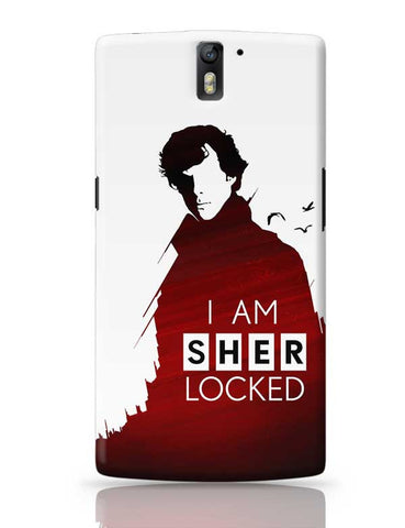I am sherlocked OnePlus One Covers Cases Online India