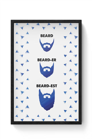 Beard Framed Poster Online India