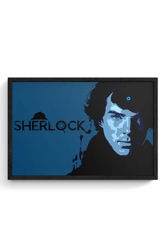 Sherlock, the Mastermind Framed Poster Online India