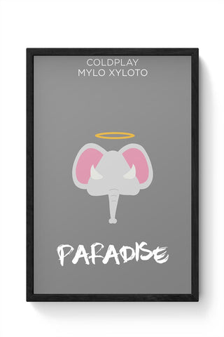 COLDPLAY MINIMAL  Framed Poster Online India