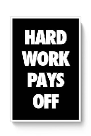 HARD WORK !!! Poster Online India