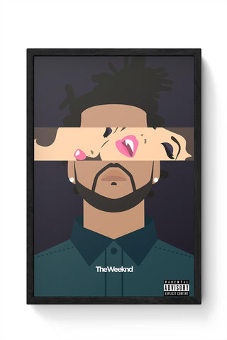 THE WEEKND #2 Framed Poster Online India