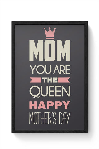 HAPPY MOTHER'S DAY  Framed Poster Online India