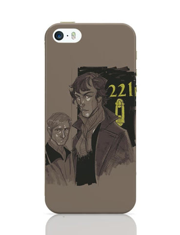 220 B Baker Street iPhone 5/5S Covers Cases Online India