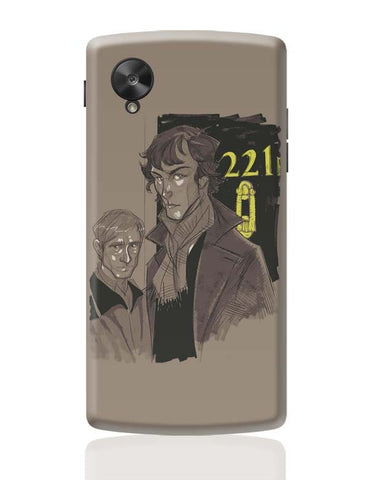220 B Baker Street Google Nexus 5 Covers Cases Online India