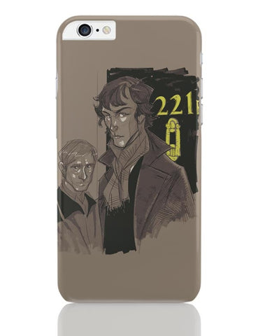 220 B Baker Street iPhone 6 Plus / 6S Plus Covers Cases Online India