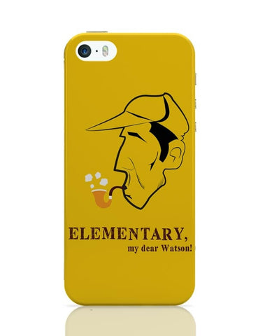 Elementary, My Dear Watson! iPhone Covers Cases Online India