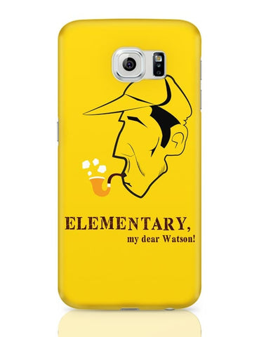 Elementary, My Dear Watson! Samsung Galaxy S6 Covers Cases Online India