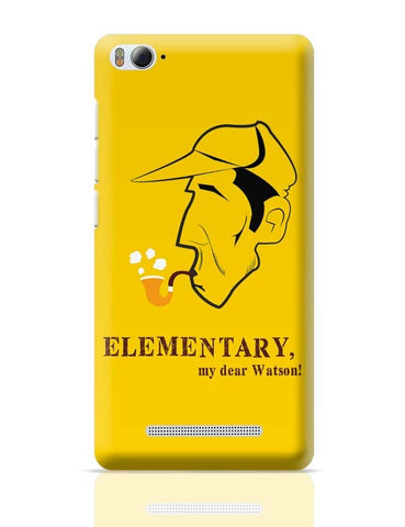 Elementary, My Dear Watson! Xiaomi Mi 4i Covers Cases Online India