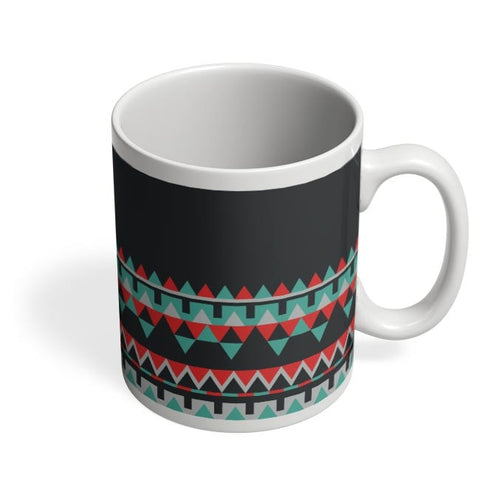 Abstract Border Coffee Mug Online India