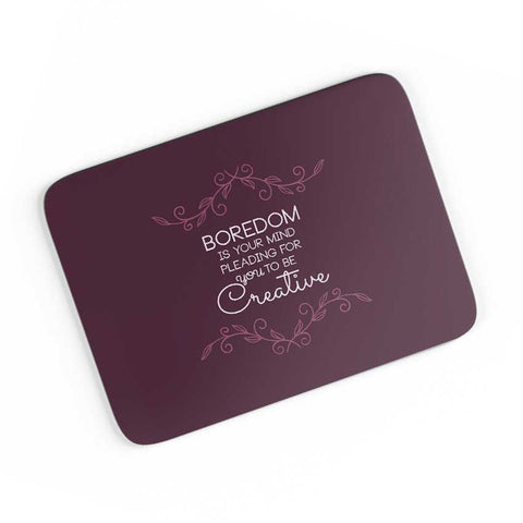 Inspiring Quote  A4 Mousepad Online India