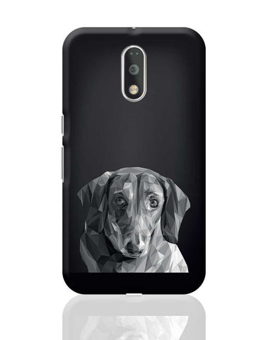 Cute Dachshund Dog Moto G4 Plus Online India