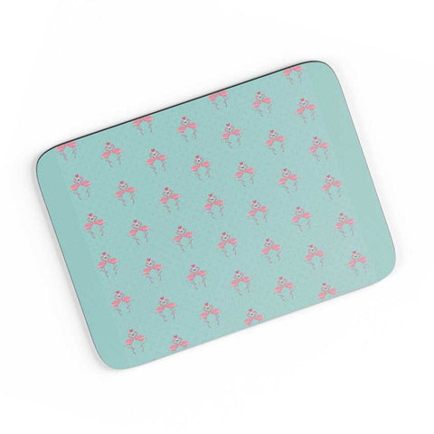 Pink Flamingo - Blue Background A4 Mousepad Online India