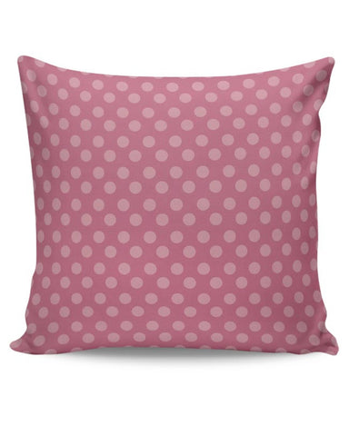 Pink,Dots,Evergreen,Pretty,Abstract Cushion Cover Online India